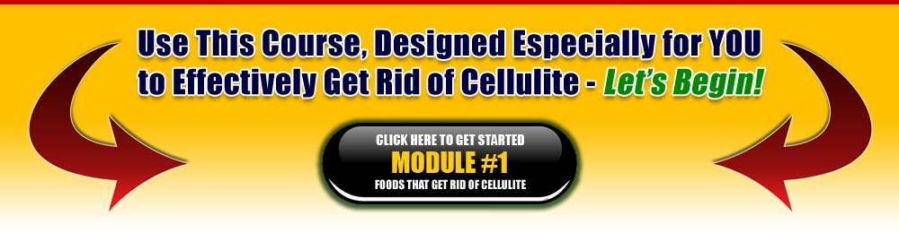 Module 1: Foods That Helps Get Rid of Cellulite