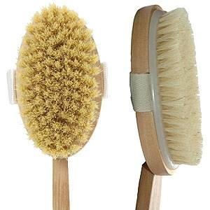 Dry Brushing for Cellulite
